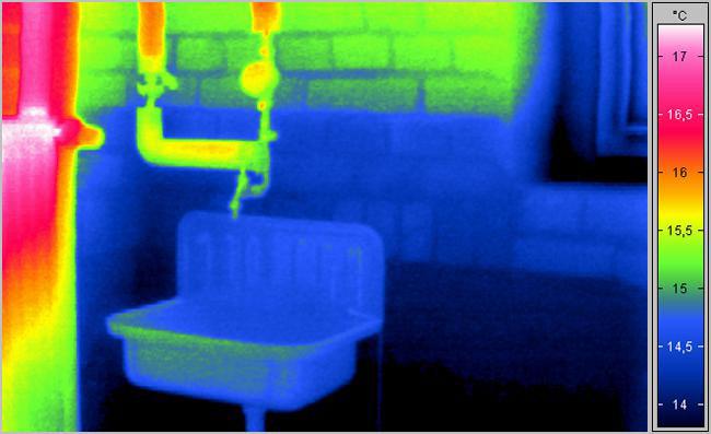 Wasserschäden entdecken durch Thermografie