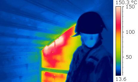 Thermografie hilft auch der Feuerwehr