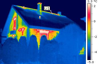 Gezielt sanieren durch Thermografie